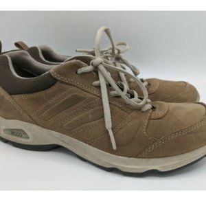 Ecco Shoes Receptor Technology Suede Leather